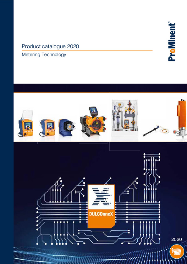 ProMinent® Product Catalogue 2020 - Volume 1: Metering technology