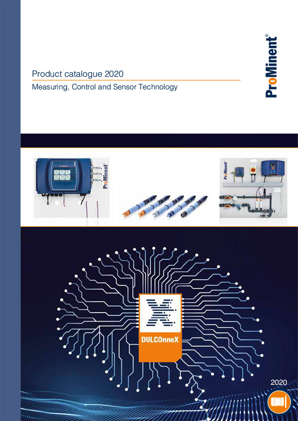 ProMinent® Product Catalogue 2020 - Volume 2: Measuring, control and sensor technology